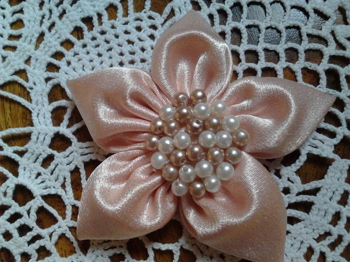 Как сделать цветы из ткани для платья своими руками