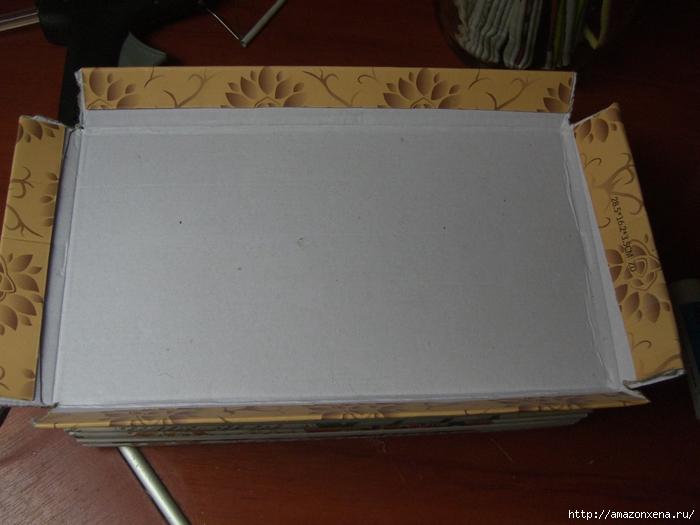 Декорирование обувной коробки газетными трубочками. Мастер-класс (1) (700x525, 242Kb)