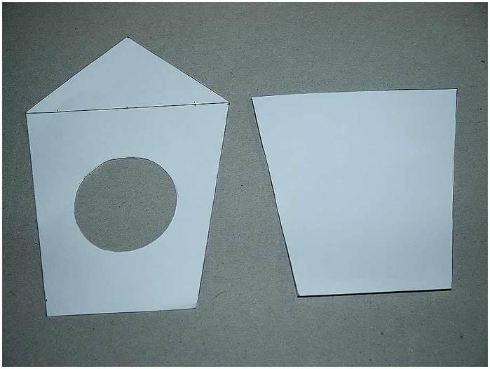 Домик для птички из картона, палочек от мороженого, с мозаикой из яичной скорлупы (4) (700x526, 35Kb)