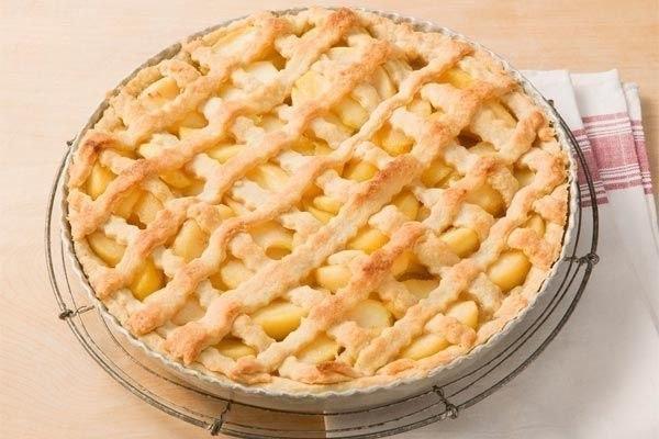 Яблочный пирог (600x400, 51Kb)