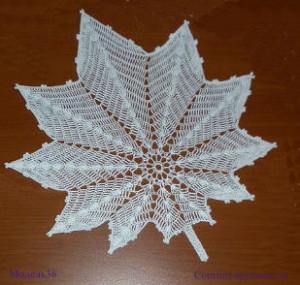 САЛФЕТКА белая кленовая (300x285, 45Kb)