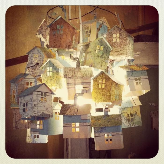 бумажные домики от hutch
