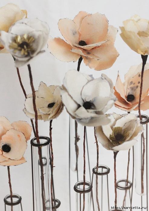 Цветы из акварельной бумаги (2) (493x700, 202Kb)