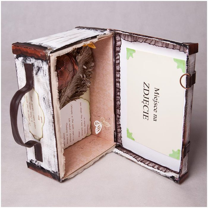 Коробка чемодан своими руками
