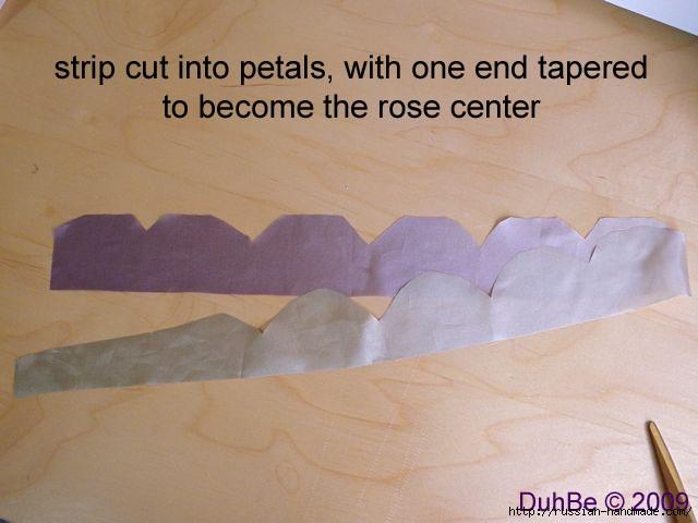 Как сделать цветочек из шелка и органзы. Мастер-класс (3) (640x480, 120Kb)