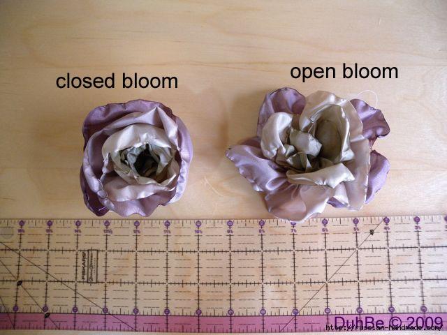 Как сделать цветочек из шелка и органзы. Мастер-класс (7) (640x480, 157Kb)