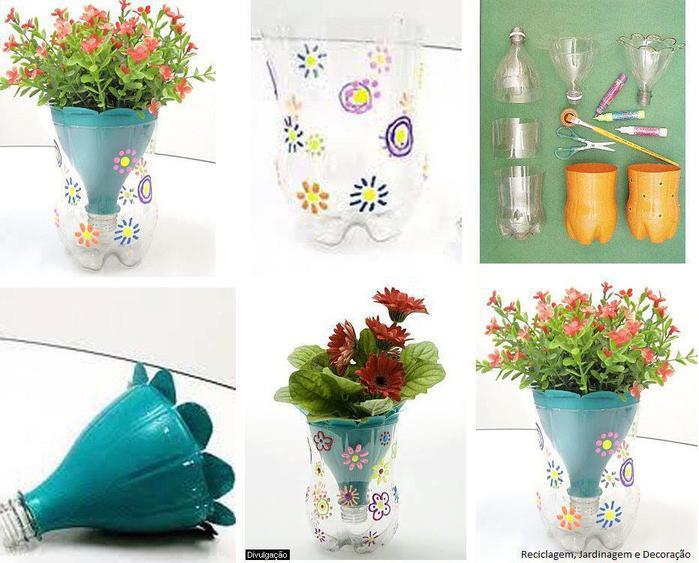 Как сделать горшок для цветов