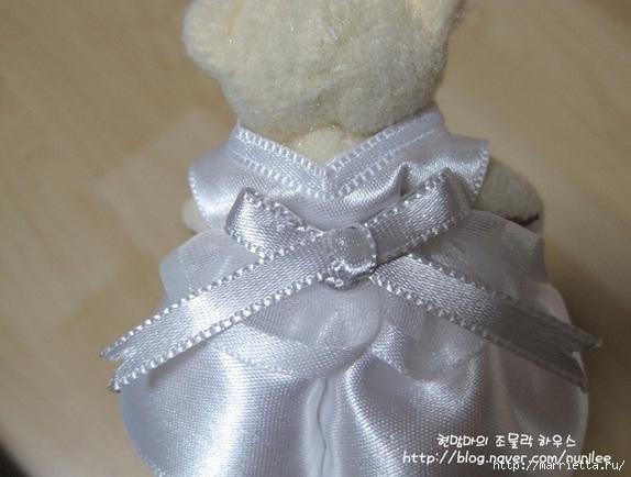 Свадебный наряд для маленького медвежонка. Мастер-класс (16) (574x434, 135Kb)