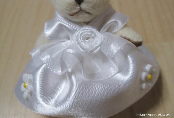 Свадебный наряд для маленького медвежонка. Мастер-класс (18) (582x394, 110Kb)