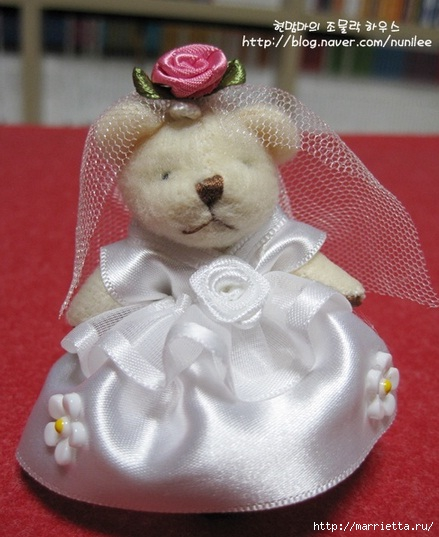 Свадебный наряд для маленького медвежонка. Мастер-класс (22) (439x537, 142Kb)