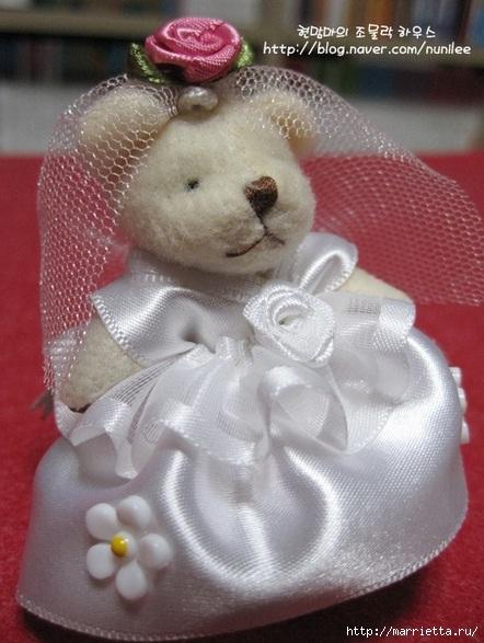 Свадебный наряд для маленького медвежонка. Мастер-класс (24) (442x587, 163Kb)