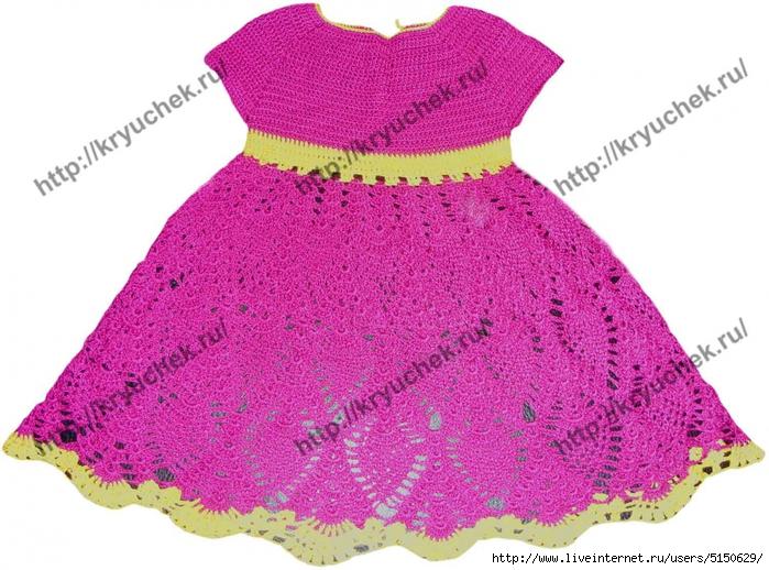 Сшить детское платье своим руками 3