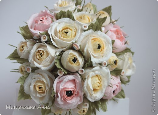 букет роз из гофрированной бумаги (2) (520x379, 40Kb)