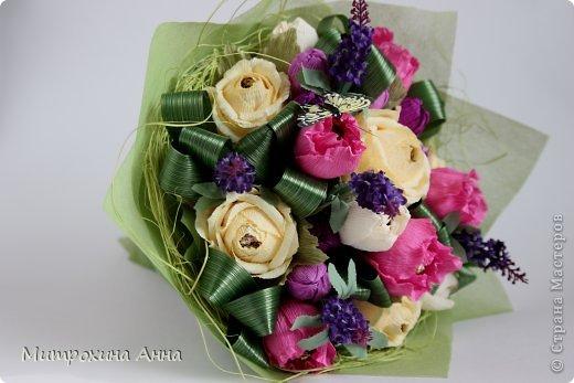 букет роз из гофрированной бумаги (4) (520x347, 37Kb)