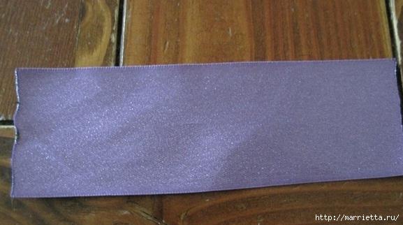 Украшения своими руками. Стильные цветы из атласных лент (2) (577x322, 117Kb)