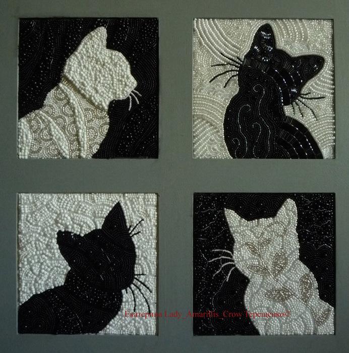 кошки (692x700, 191Kb)