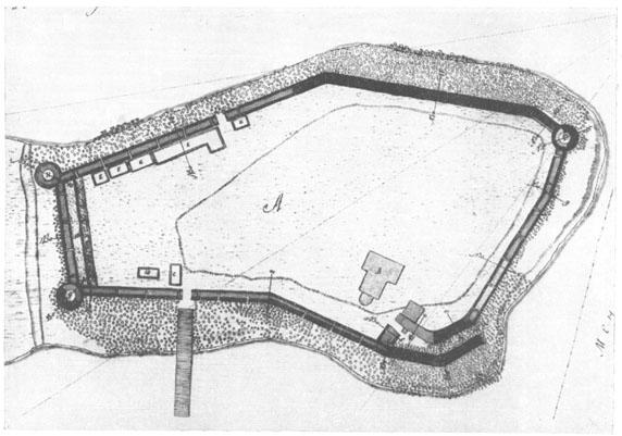 09 Остров схема крепости