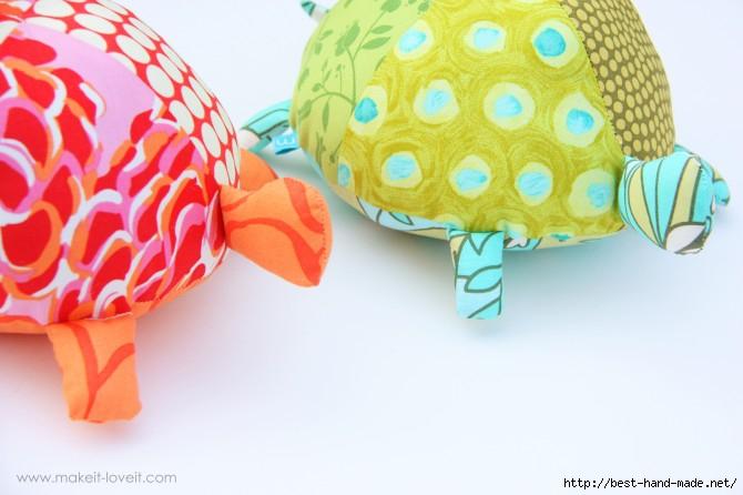 Черепашки своими руками Мягкая игрушка - Ручная работа и креатив - интернет-журнал Поделки своими руками