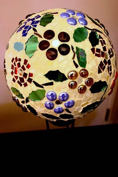 Bolas decorativas feitas de cimento para o jardim.  Idéias e master class (17) (400x600, 74KB)