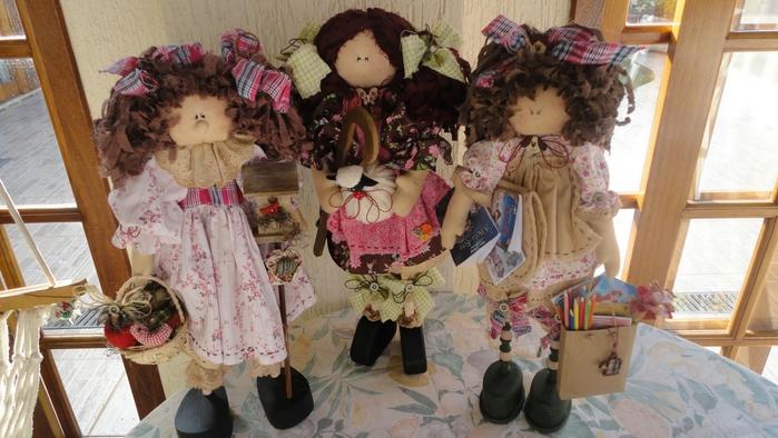 лоскутные куклы ручной работы 1 (700x394, 242Kb)