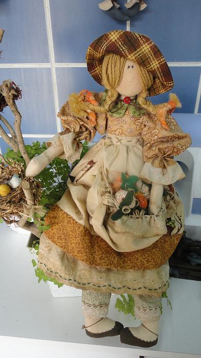 лоскутные куклы ручной работы 16 (393x700, 195Kb)