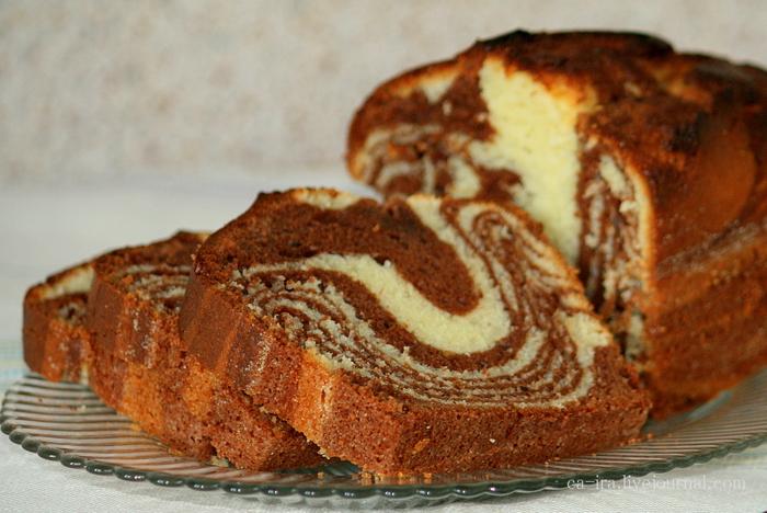 простой шоколадный кекс в мультиварке рецепты с фото