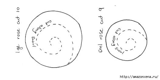 Шьем валентинку с розочками из фетра. Шаблон (2) (526x264, 35Kb)