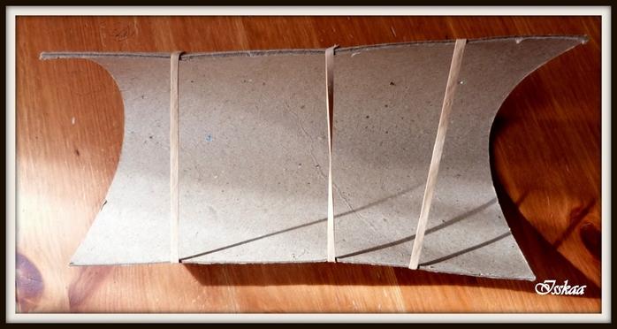 Сундучок из коробки, оплетание газетными трубочками. Мастер-класс (5) (700x372, 174Kb)