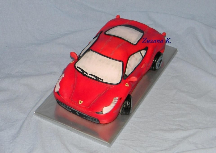 3D торты для мальчика. Автомобили (45) (700x496, 202Kb)