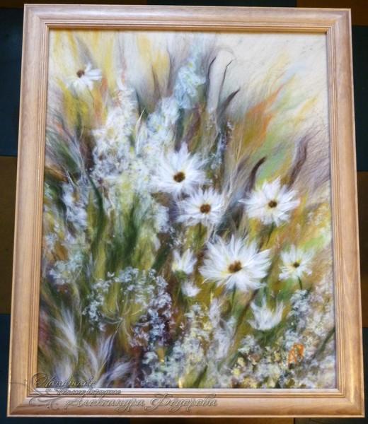 солнечные цветики в раме (520x600, 90Kb)