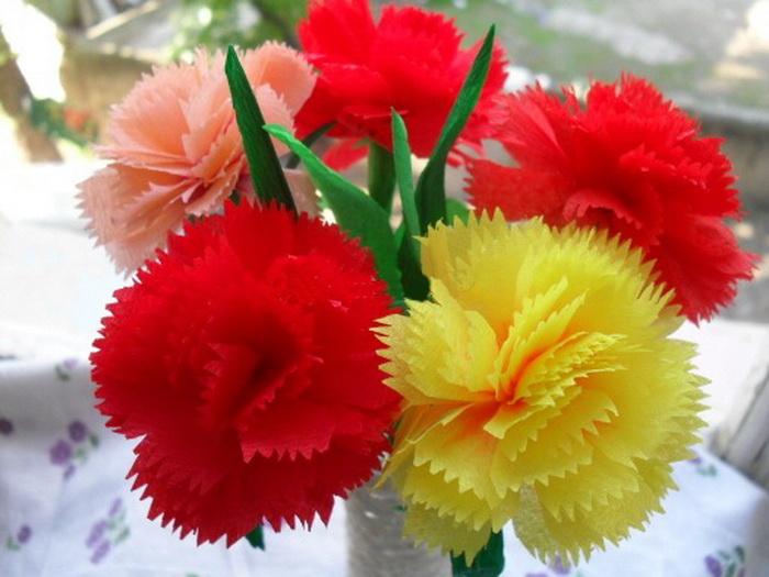 Как сделать цветок на 9 мая