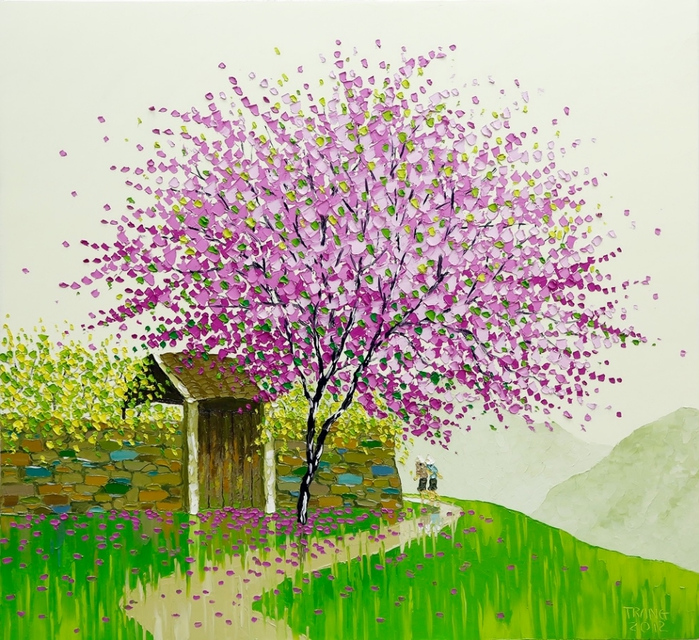 Phan-Thu-Trang.-Flower-field.-Blossom.-80x85-cm (700x640, 393Kb)