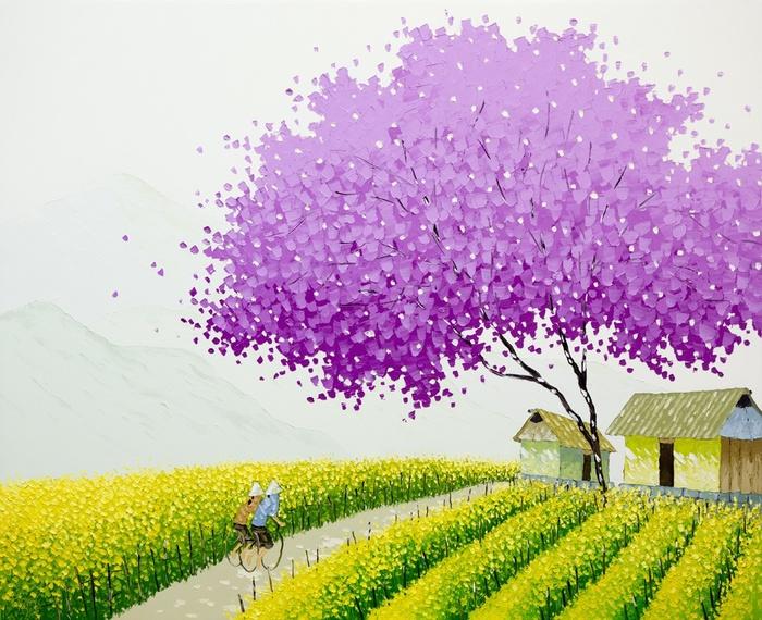 Phan-Thu-Trang_Spring-field-2_100x120-cm (700x570, 197Kb)