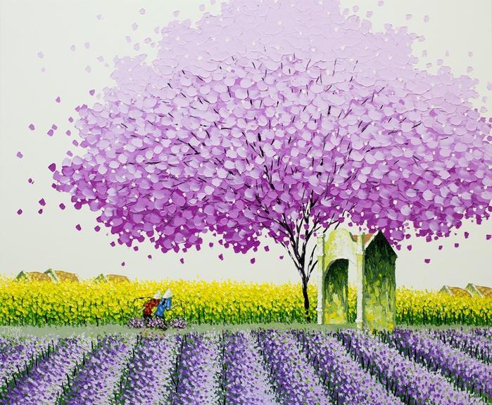 Phan-Thu-Trang_Spring-field_100x120-cm (700x576, 236Kb)