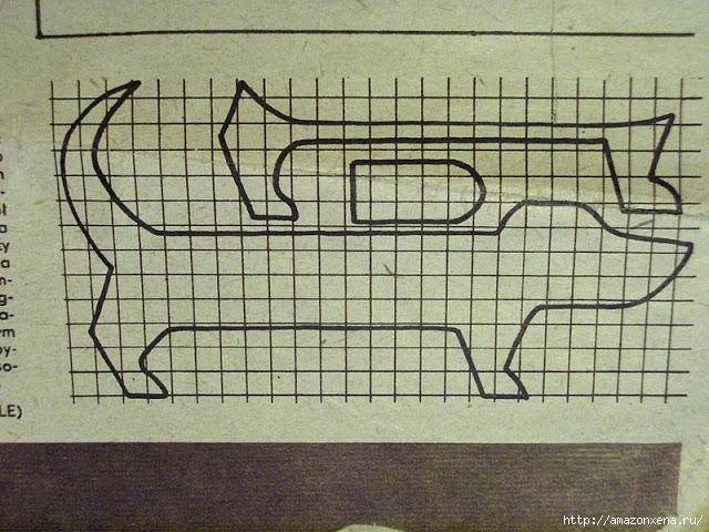 Шьем игрушки. Выкройки зайца и таксы (5) (640x480, 315Kb)