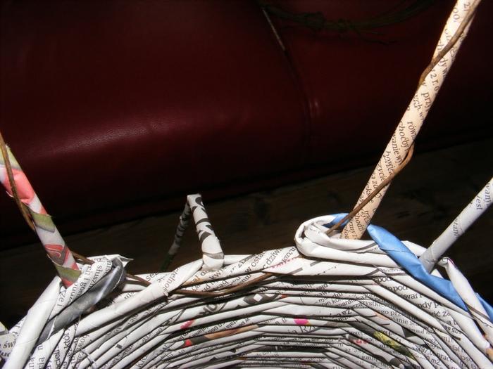 Плетение из газет. МЕЛЬНИЦА. Мастер-класс (6) (700x525, 246Kb)