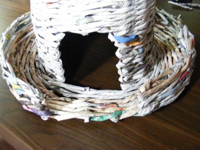 Плетение из газет. МЕЛЬНИЦА. Мастер-класс (27) (700x525, 277Kb)