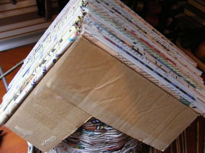 Плетение из газет. МЕЛЬНИЦА. Мастер-класс (36) (700x525, 281Kb)