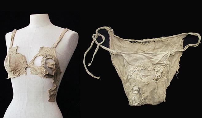 старинное женское белье из замка Ленгберг (658x384, 60Kb)