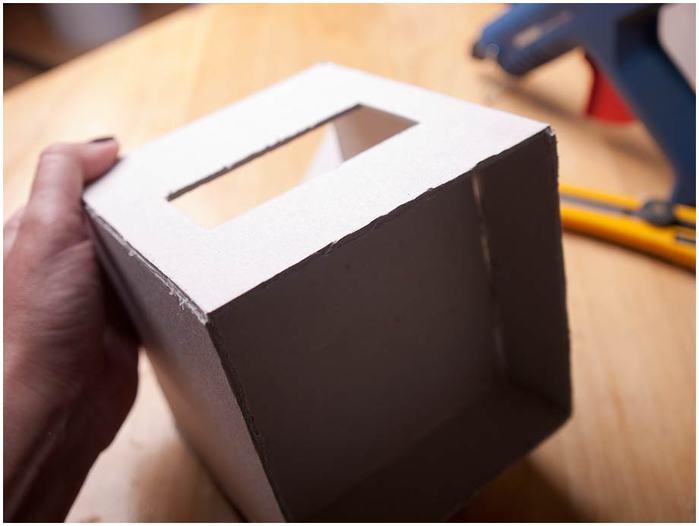 Винтажная кофемолка из картона. Мастер-класс. Супер! (17) (700x526, 27Kb)