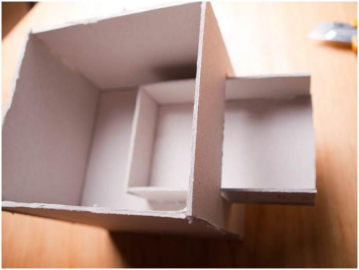 Винтажная кофемолка из картона. Мастер-класс. Супер! (25) (700x526, 23Kb)