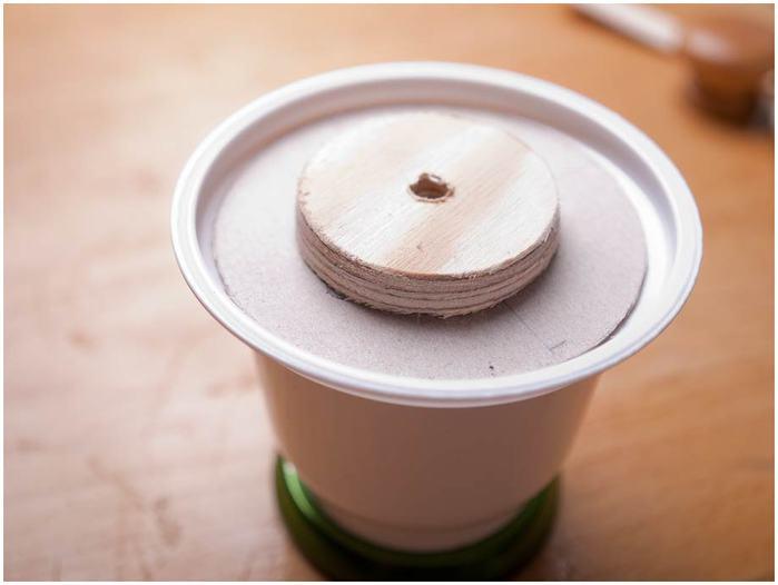 Винтажная кофемолка из картона. Мастер-класс. Супер! (34) (700x526, 27Kb)