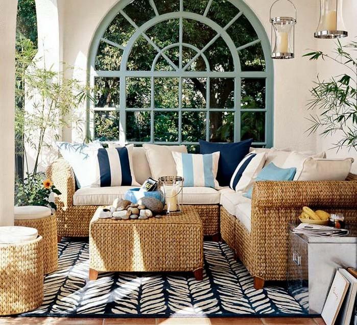 Плетеное кресло и другая мебель для сада 8 (700x637, 180Kb)