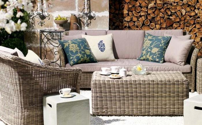Плетеное кресло и другая мебель для сада 10 (700x434, 120Kb)