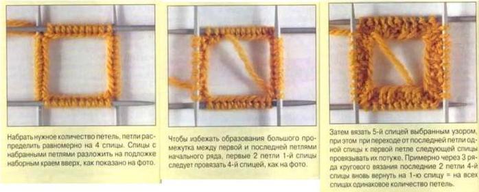 Как закрыть петли при вязании в круговую