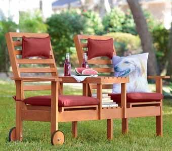 Дачная мебель из подручных материалов своими руками