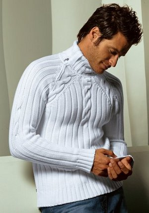 Свитера: связать мужской свитер с капюшоном, что.