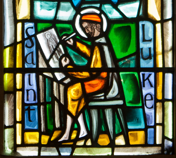 Dublin_Christ_Church_Cathedral_Chapel_of_Laurence_O'Toole_Window_Virgin_and_Child_with_Saint_Luke_by_Patrick_Pollen_Detail_2012_09_26 (700x627, 514Kb)