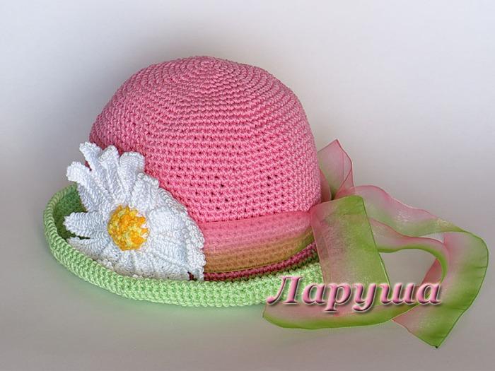 летняя шляпка крючком (16) (700x525, 112Kb)