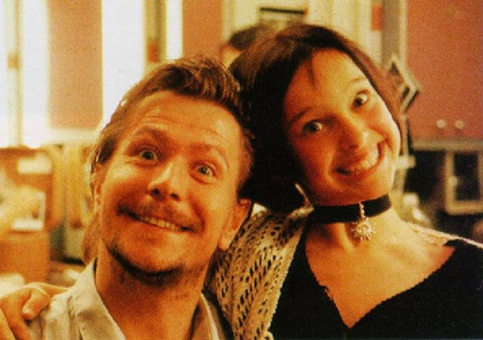 Стенсфилд (убийца киношного Леона) и Матильда